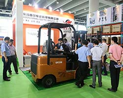 Hopper forklift brought new products to the